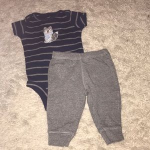 Carters wolf outfit